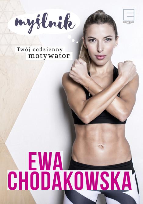okładka Myślnik. Twój codzienny motywator, Ebook   Ewa Chodakowska