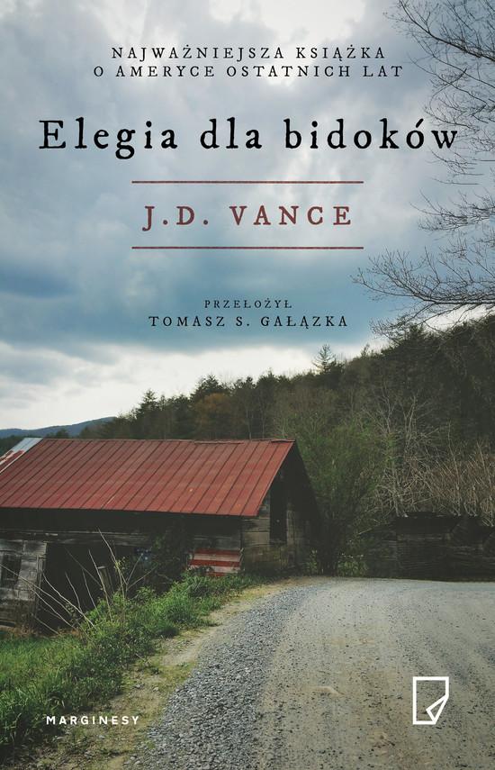 okładka Elegia dla bidoków, Ebook | J. D.  Vance