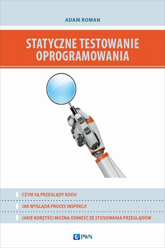 okładka Statyczne testowanie oprogramowaniaebook | epub, mobi | Adam  Roman