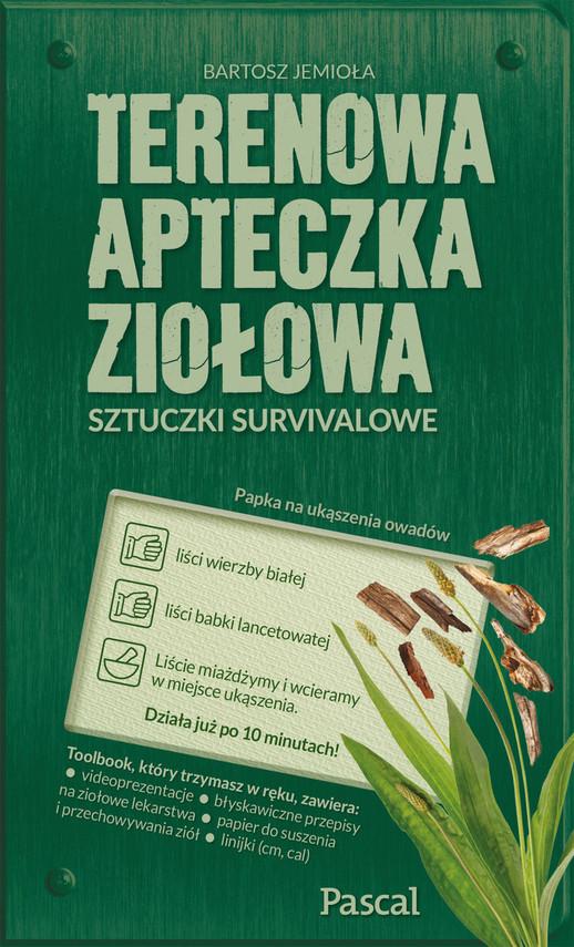 okładka Terenowa apteczka ziołowa, Ebook   Bartosz Jemioła
