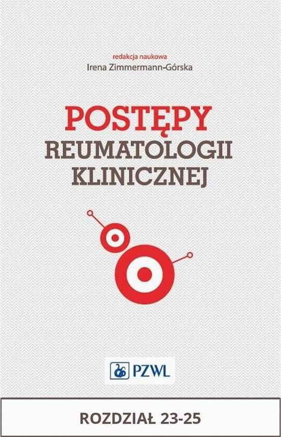 okładka Postępy reumatologii klinicznej. Rozdział 23-25, Ebook | Praca Zbiorowa