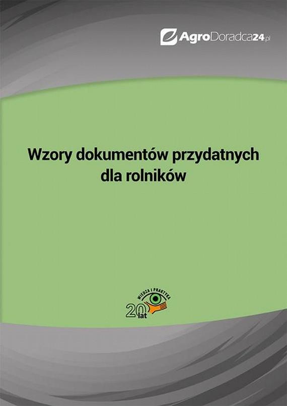 okładka Wzory dokumentów przydatnych dla rolników, Ebook | Praca Zbiorowa