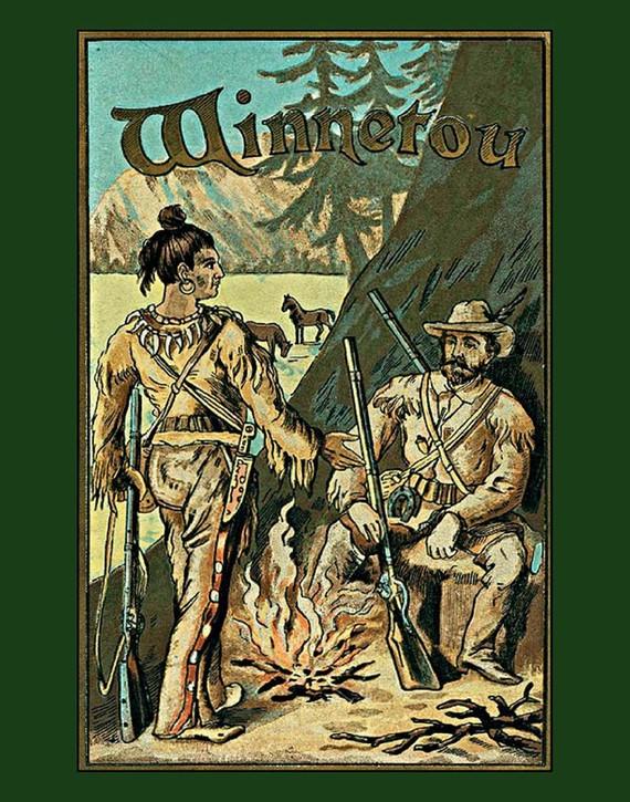 okładka Winnetou tomy I, II i IIIebook | epub, mobi | Karol  May