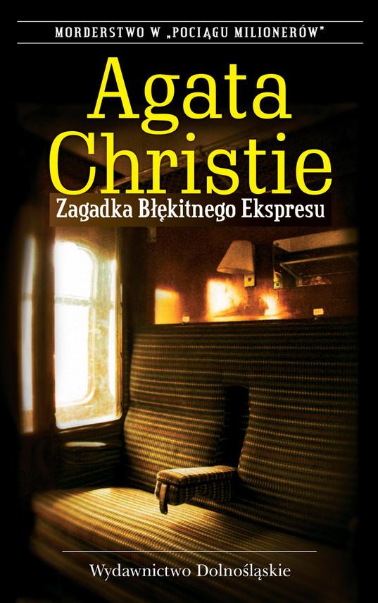 okładka Zagadka Błękitnego Ekspresuebook | epub, mobi | Agata Christie