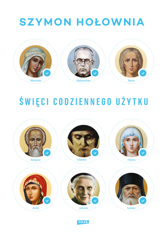 okładka Święci codziennego użytkuebook | epub, mobi | Szymon Hołownia