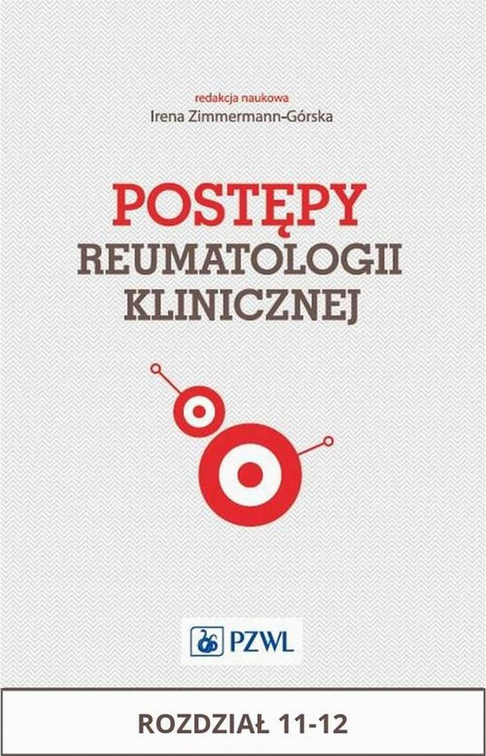 okładka Postępy reumatologii klinicznej. Rozdział 11-12, Ebook | Praca Zbiorowa