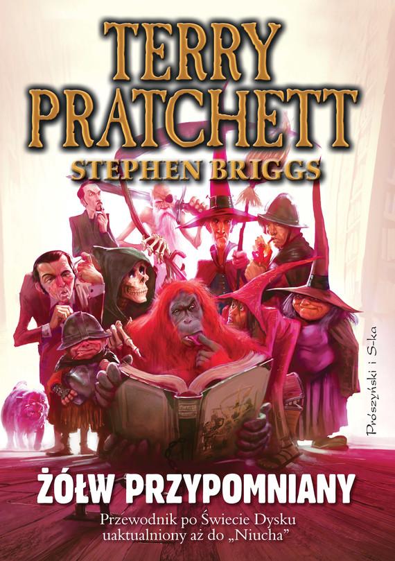 okładka Żółw przypomniany. Przewodnik po Świecie Dysku uaktualniony a z do Niucha, Ebook | Terry Pratchett, Stephen Briggs
