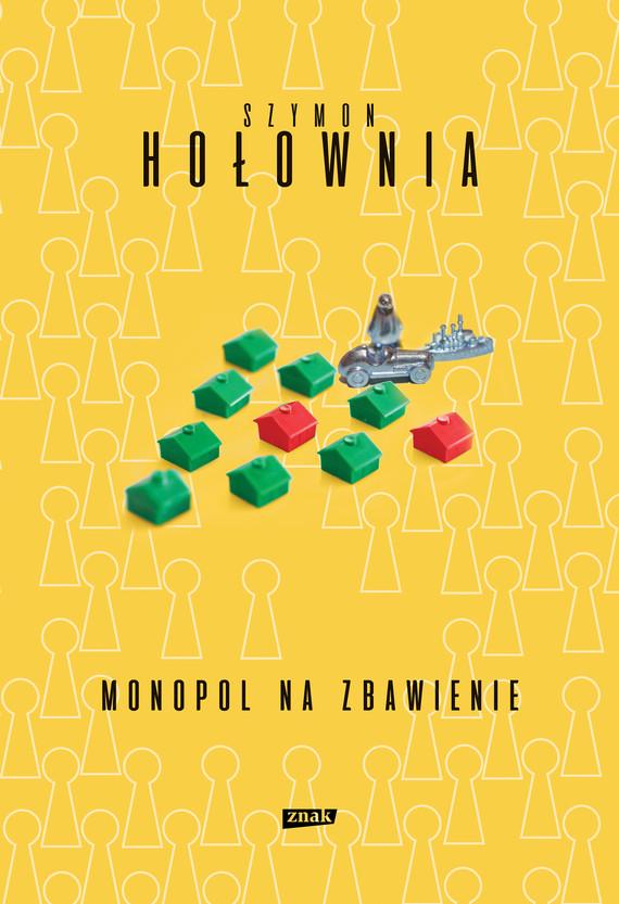 okładka Monopol na zbawienie (2020)ebook | epub, mobi | Szymon Hołownia