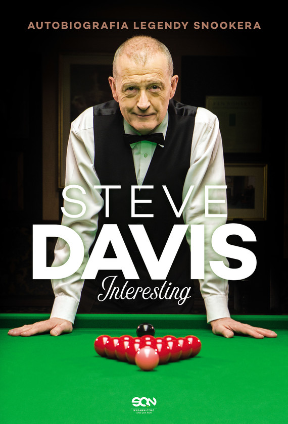 okładka Steve Davis. Interesting. Autobiografia legendy snookeraebook   epub, mobi   Steve Davis, Lance Hardy