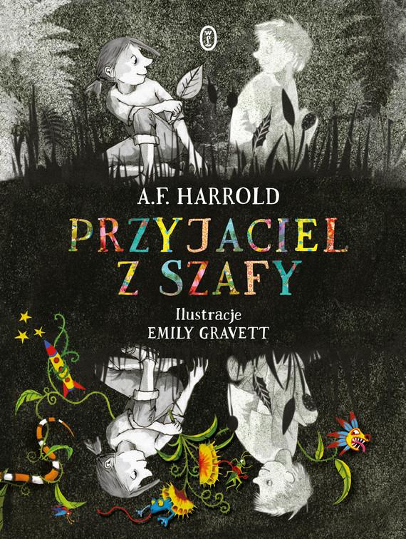 okładka Przyjaciel z szafy, Ebook   A.F. Harrold
