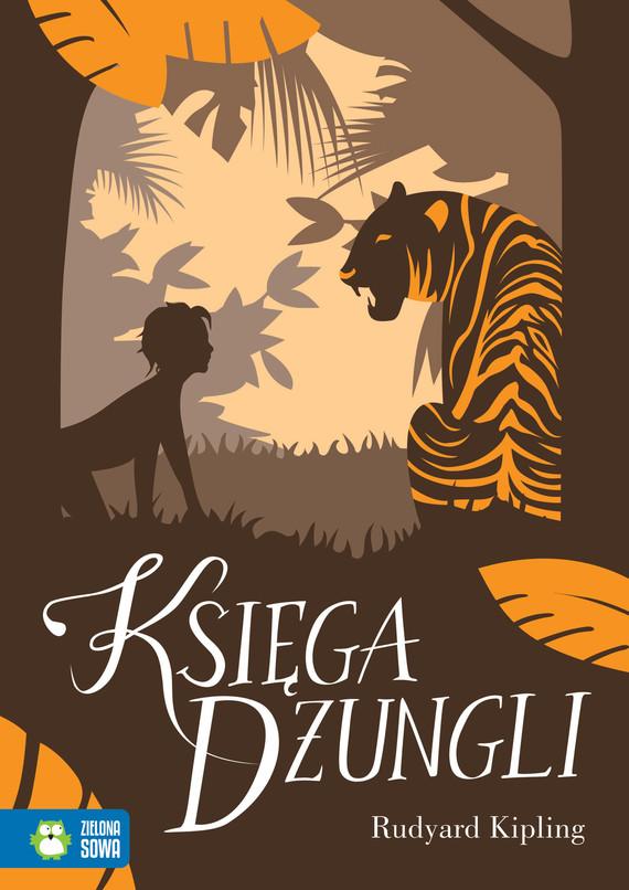 okładka Księga Dżungliebook   epub, mobi   Rudyard Kipling