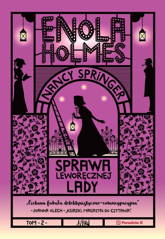 okładka Enola Holmes. Sprawa leworęcznej ladyebook | epub, mobi | Nancy Springer