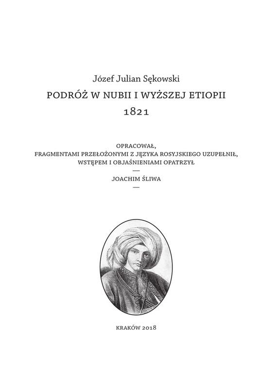 okładka Podróż w Nubii i wyższej Etiopii 1821, Ebook | Józef Julian  Sękowski (Baron Brambeus)
