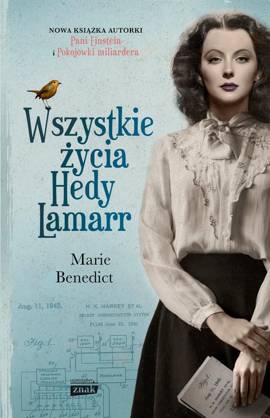 okładka Wszystkie życia Hedy Lamarrebook | epub, mobi | Marie Benedict
