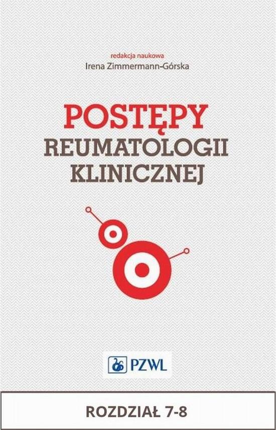 okładka Postępy reumatologii klinicznej. Rozdział 7-8, Ebook | Praca Zbiorowa
