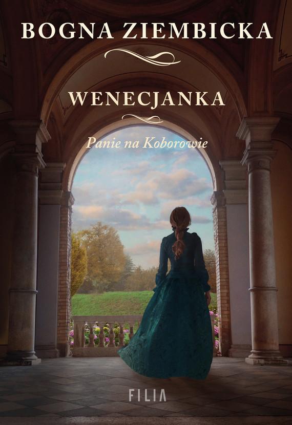 okładka Wenecjanka, Ebook | Bogna Ziembicka
