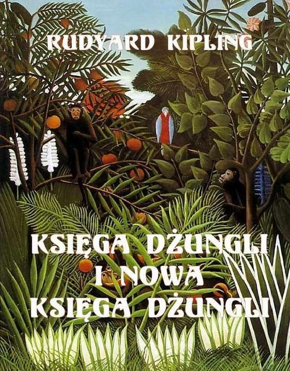 okładka Księga dżungli i Druga Księga dżungli, Ebook   Rudyard Kipling
