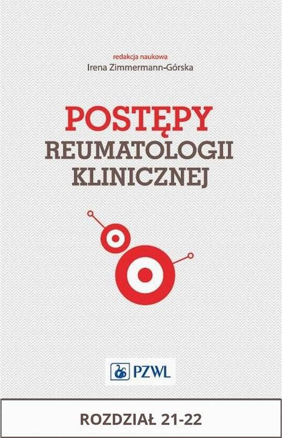 okładka Postępy reumatologii klinicznej. Rozdział 21-22, Ebook | Praca Zbiorowa
