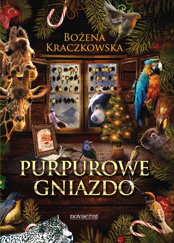 okładka Purpurowe gniazdoebook | epub, mobi | Bożena Kraczkowska