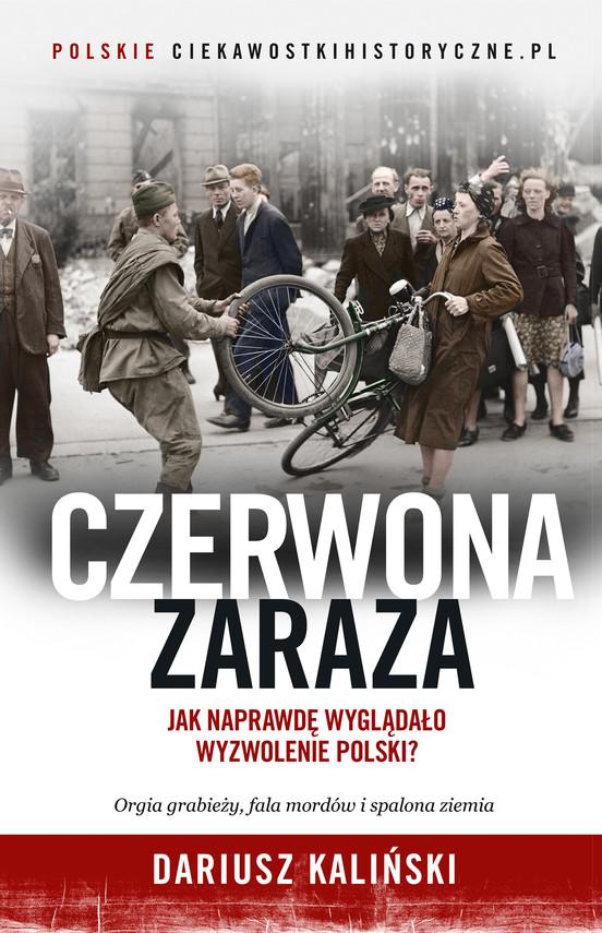 okładka Czerwona zarazaebook | epub, mobi | Dariusz Kaliński