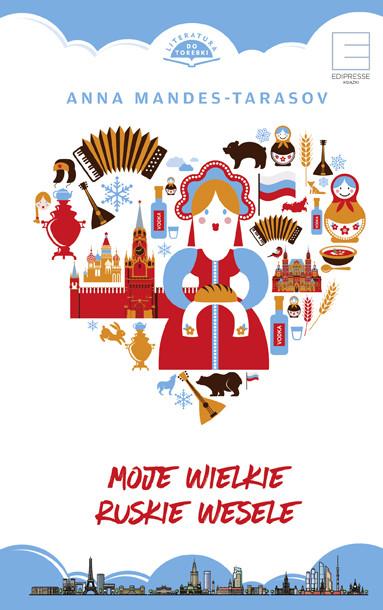okładka Moje wielkie ruskie wesele, Ebook   Mandes-Tarasov Anna