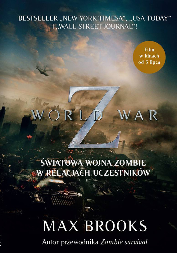 okładka WORLD WAR Z. Światowa wojna zombie w relacjach uczestnikówebook   epub, mobi   Max Brooks