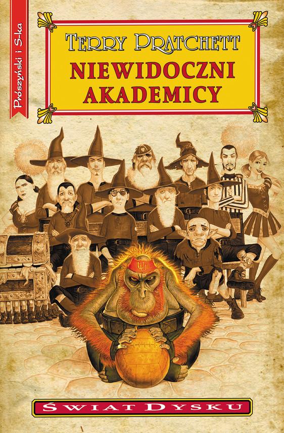okładka Niewidoczni Akademicyebook | epub, mobi | Terry Pratchett