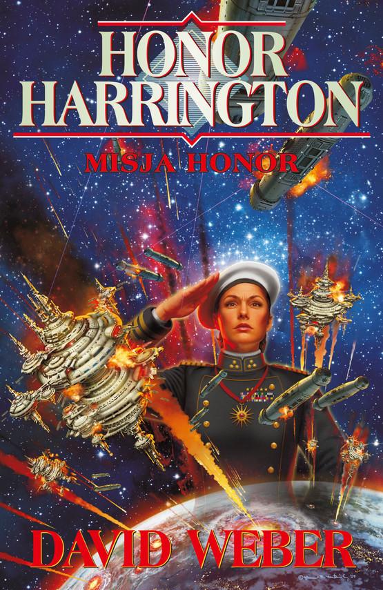 okładka Honor Harrington (#18). Misja Honor, Ebook | David Weber