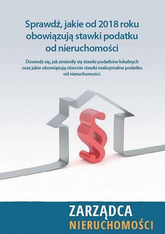 okładka Nowe stawki podatku od nieruchomości 2018, Ebook | Praca Zbiorowa