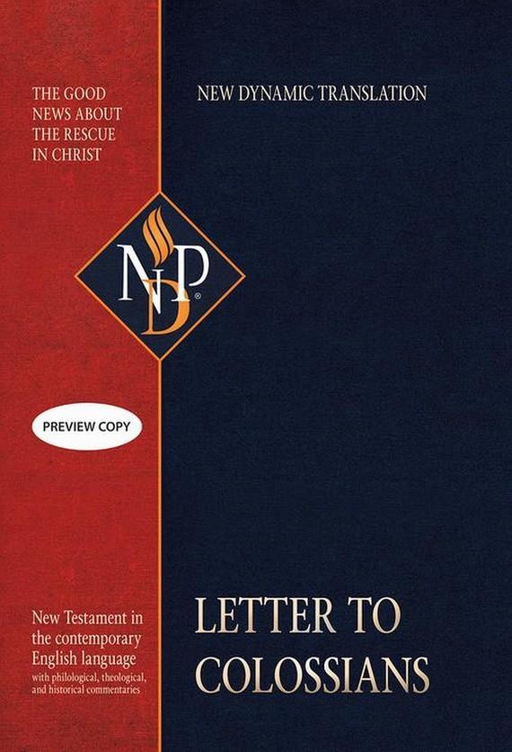 okładka Letter to Colossians, Ebook | Praca Zbiorowa