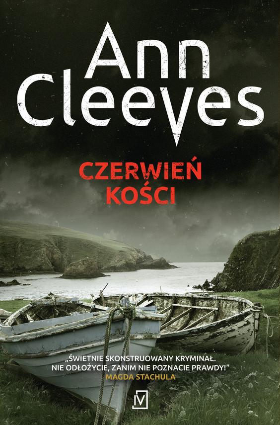 okładka Czerwień kościebook   epub, mobi   Ann Cleeves