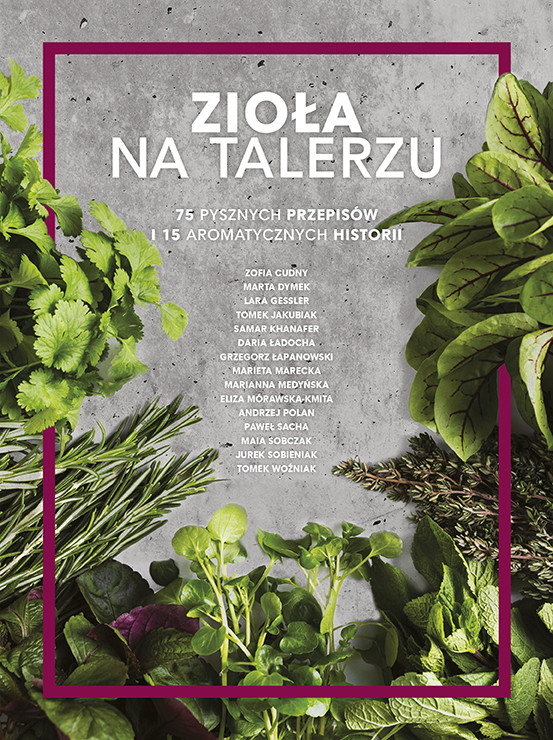 okładka Zioła na talerzu, Ebook   Opracowanie zbiorowe