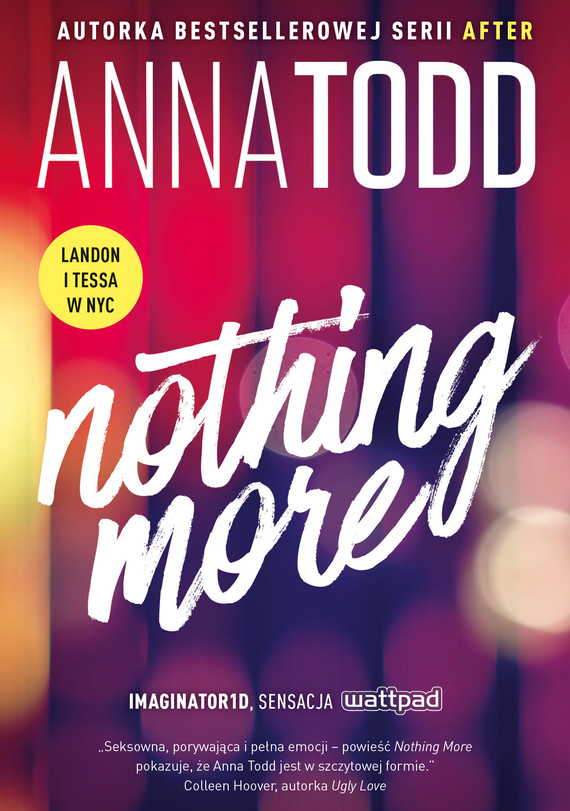 okładka Nothing moreebook | epub, mobi | Anna Todd