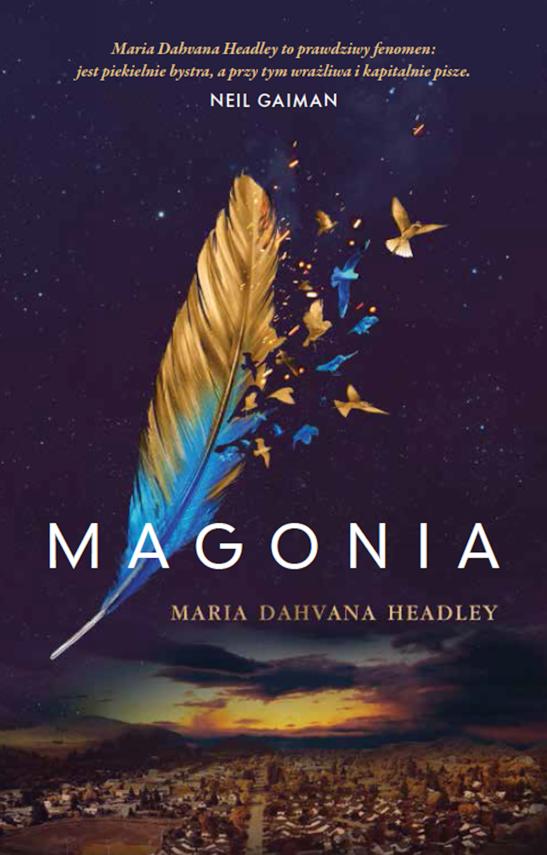 okładka Magonia, Ebook | Maria Dahvana Headley