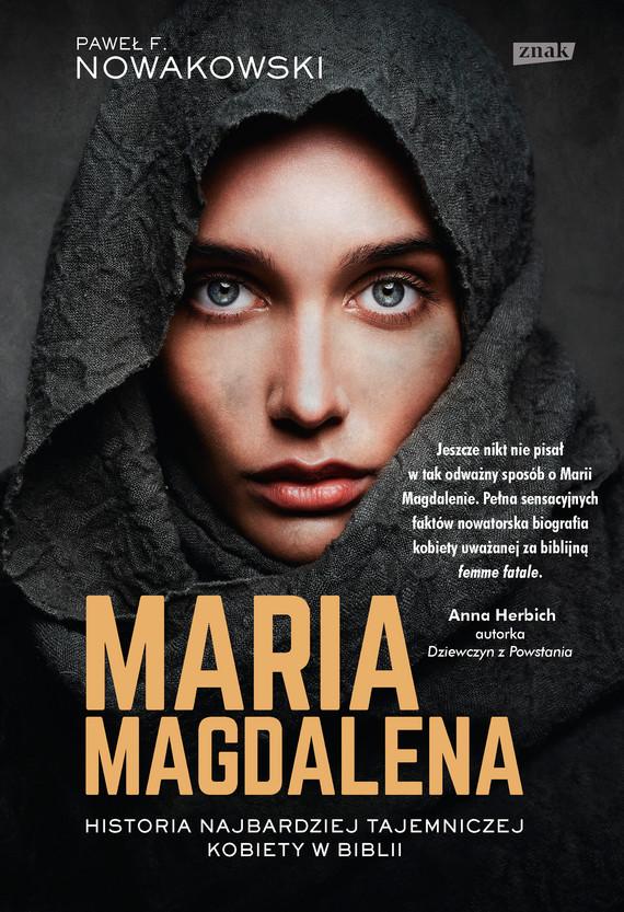 okładka Maria Magdalenaebook | epub, mobi | Paweł F. Nowakowski