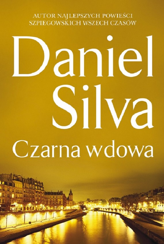 okładka Czarna wdowa, Ebook | Daniel Silva