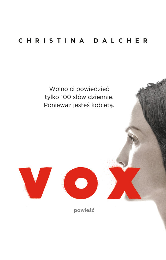 okładka Vox, Ebook   Christina Dalcher