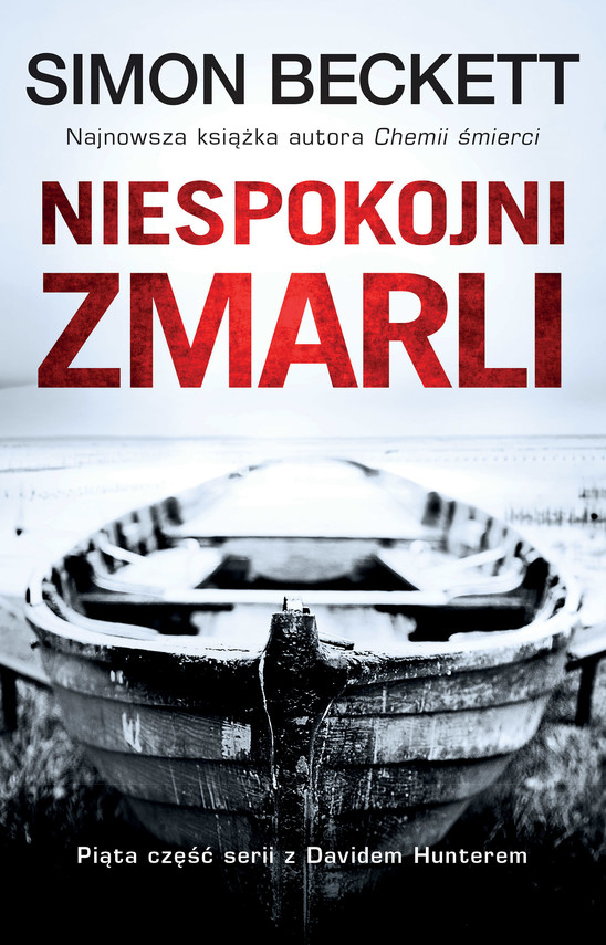 okładka David Hunter (#5). Niespokojni zmarli, Ebook | Simon Beckett