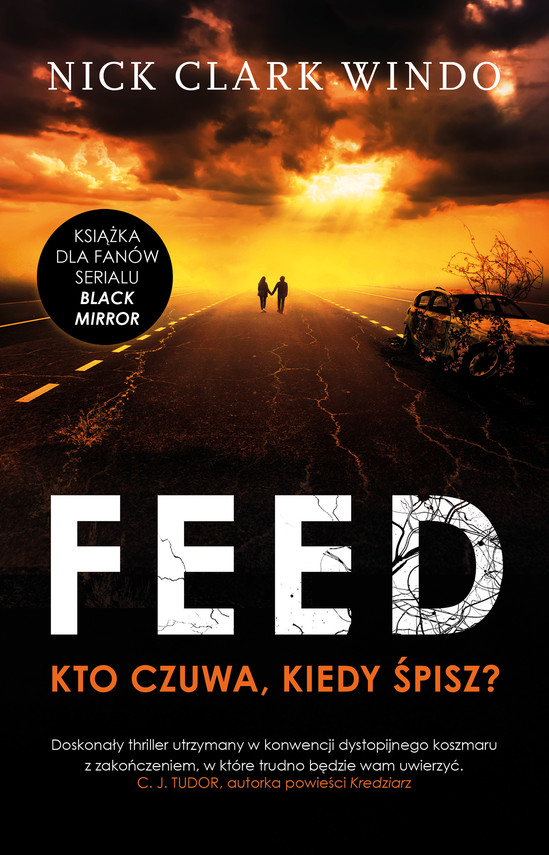 okładka The feed, Ebook | Nick Clark Windo