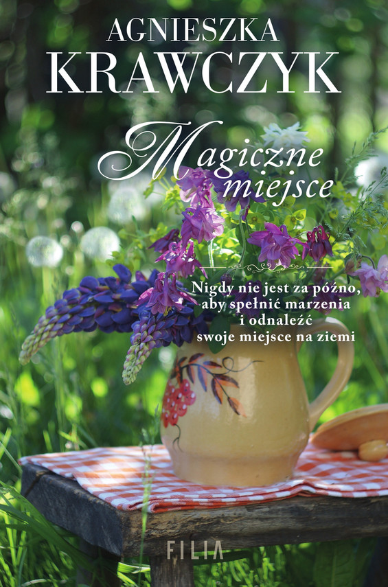 okładka Magiczne miejsceebook   epub, mobi   Agnieszka Krawczyk