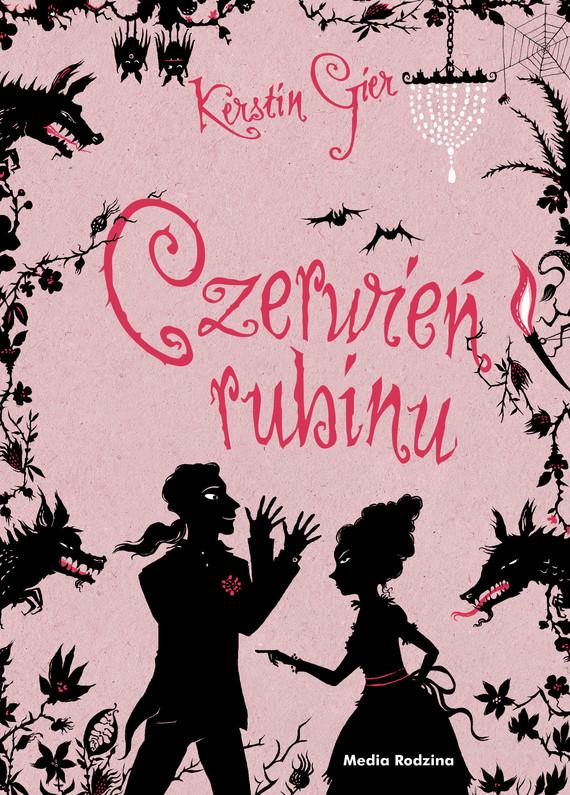 okładka Trylogia Czasu. Czerwień rubinu, Ebook | Kerstin Gier