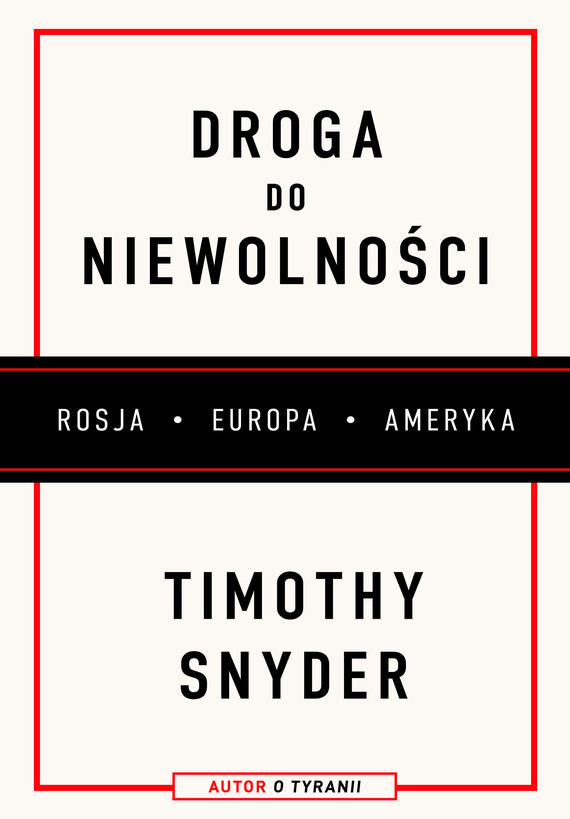 okładka Droga do niewolnościebook | epub, mobi | Timothy Snyder
