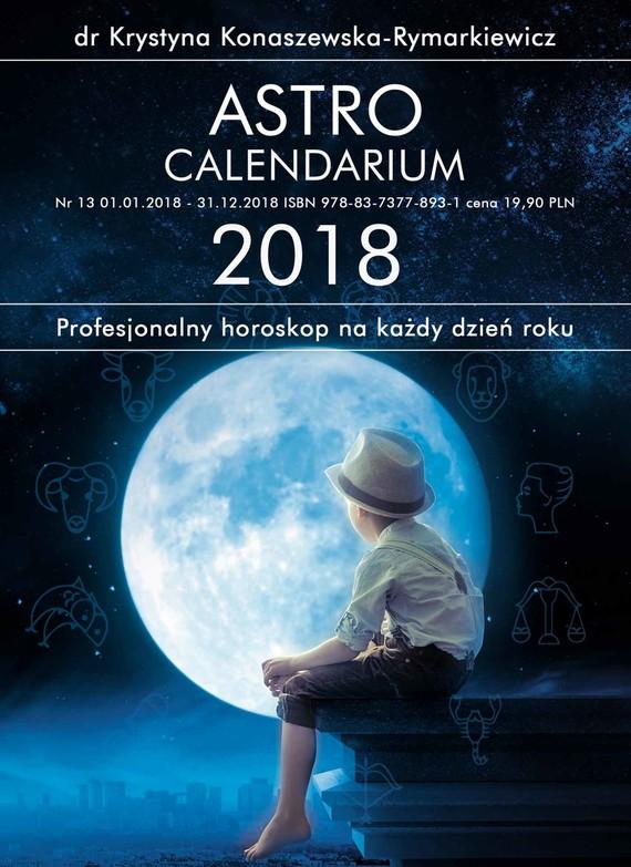 okładka Astrocalendarium 2018ebook | pdf | dr Krystyna Konaszewska - Rymarkiewicz