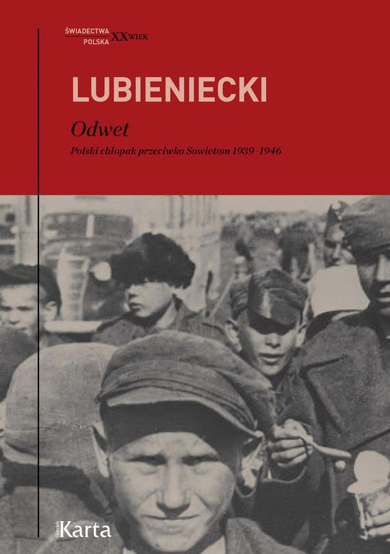 okładka Odwetebook | epub, mobi | Lubieniecki Zbigniew