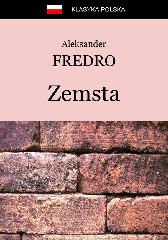 okładka Zemsta, Ebook   Aleksander Fredro