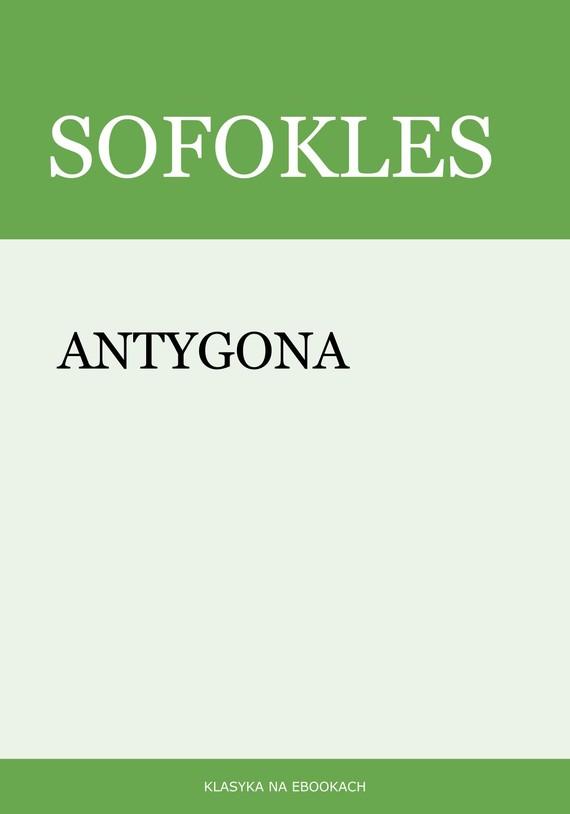 okładka Antygona, Ebook   Sofokles Sofokles