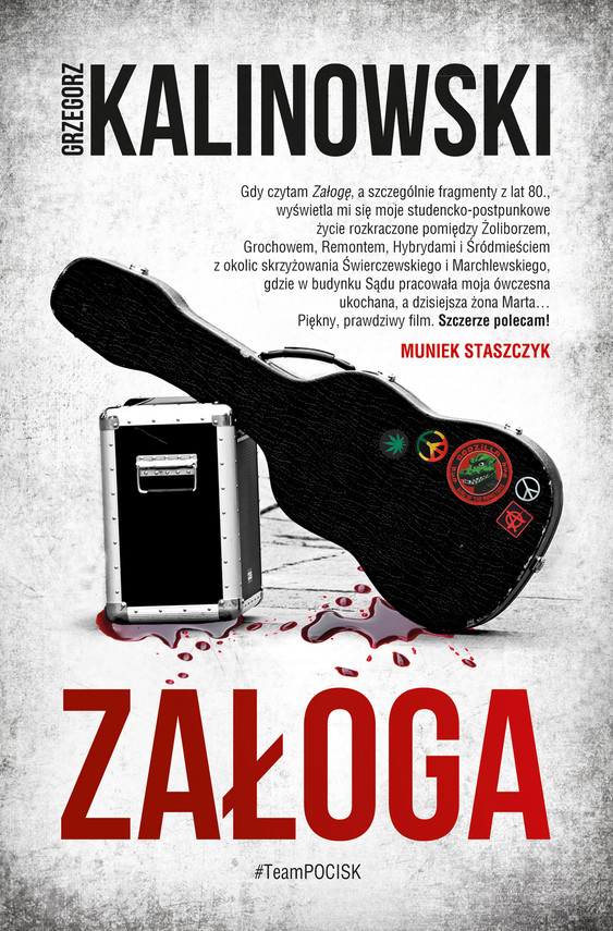 okładka Załogaebook | epub, mobi | Grzegorz Kalinowski