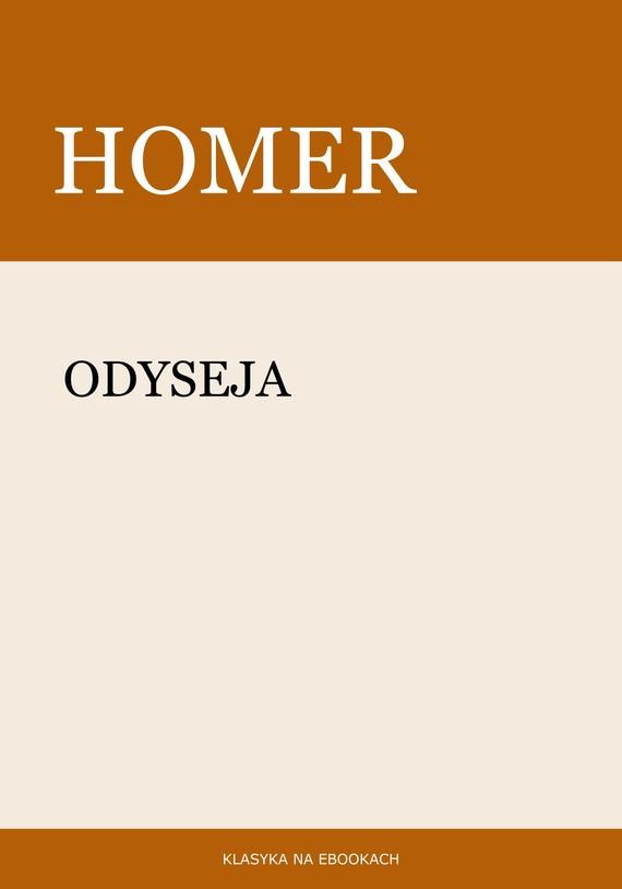 okładka Odysejaebook | epub, mobi | Homer Homer