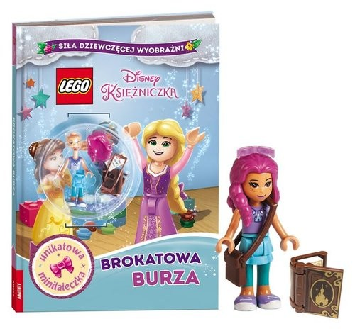 okładka Książka do czytania Lego Disney Księżniczka K ZKLNRD6101/1, Książka | Opracowanie zbiorowe