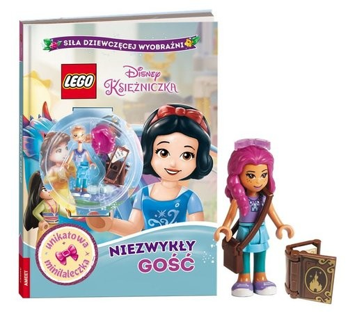 okładka Książka do czytania Lego Disney Księżniczka K ZKLNRD6102/1, Książka | Opracowanie zbiorowe